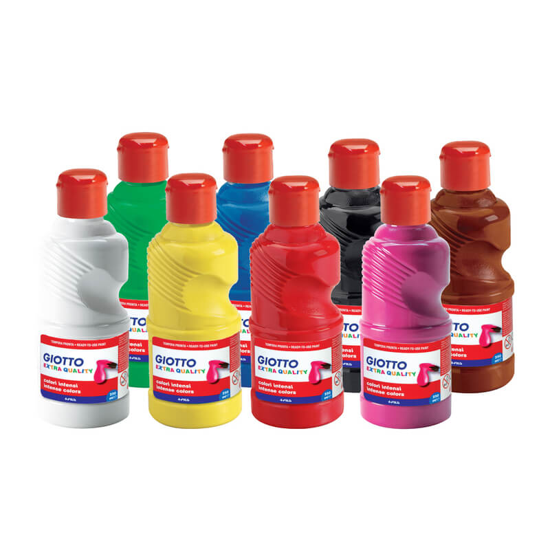 Giotto - 8 gouaches - 250 ml