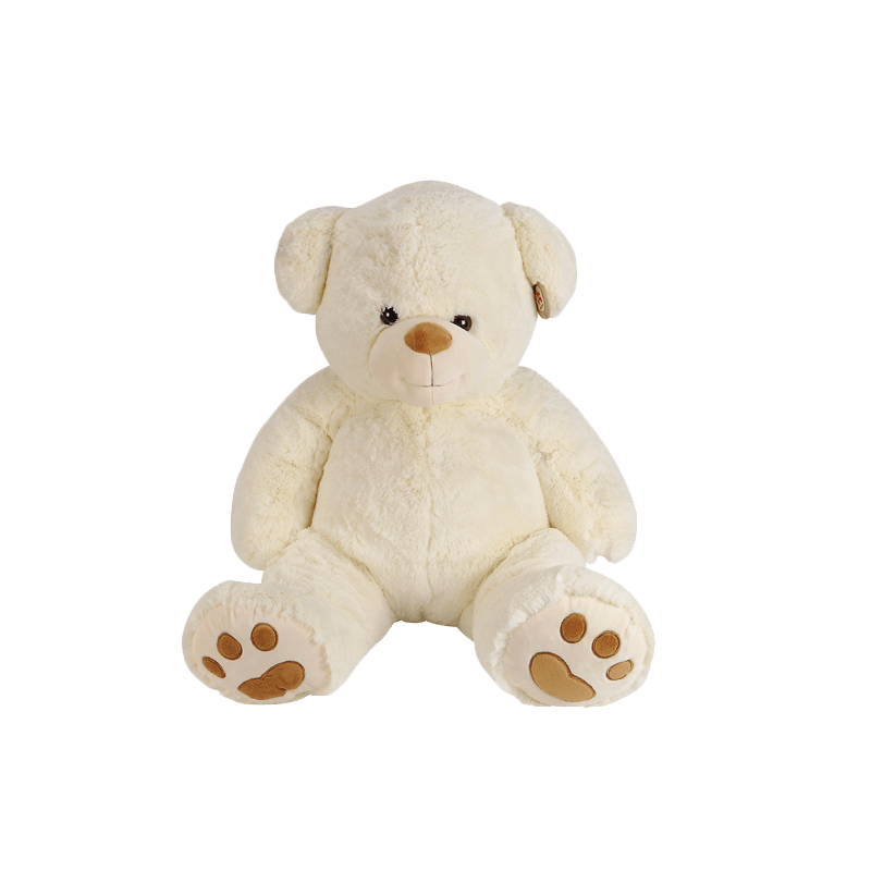 Peluche 85 Cm Ours Beige