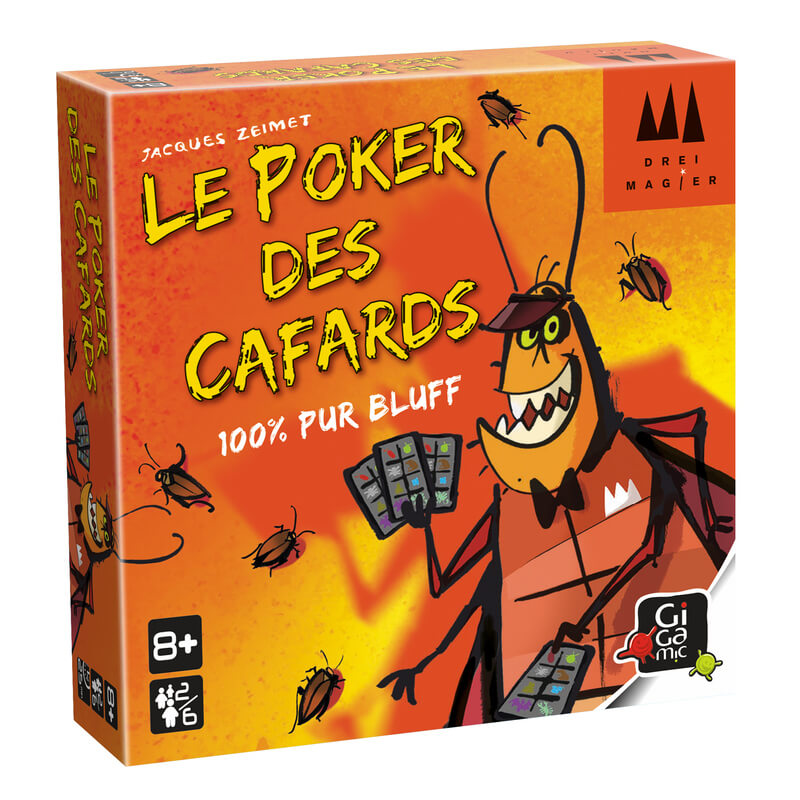 Le Poker des Cafards Gigamic