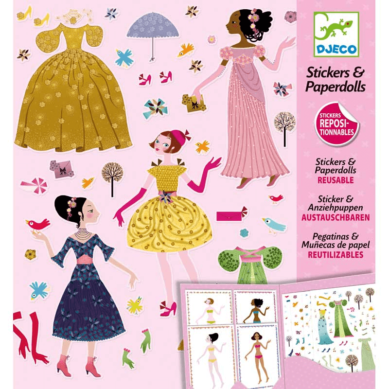 Paper Dolls - Robes des 4 saisons