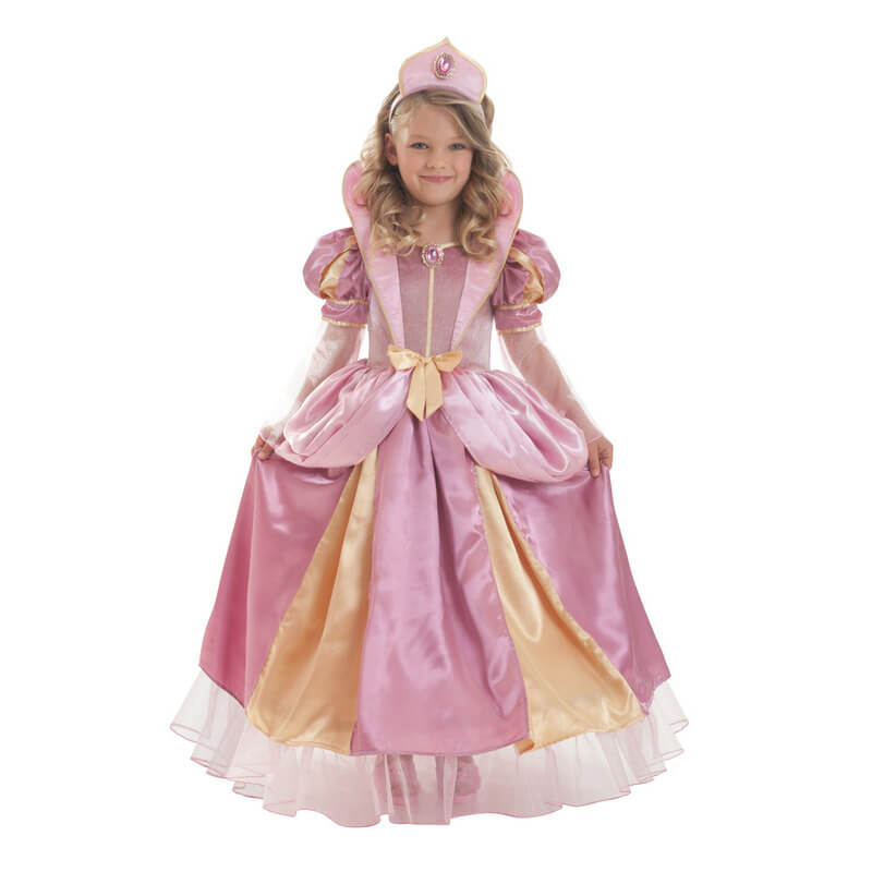 Déguisement Corolle reine rose - Taille 3-5 ans