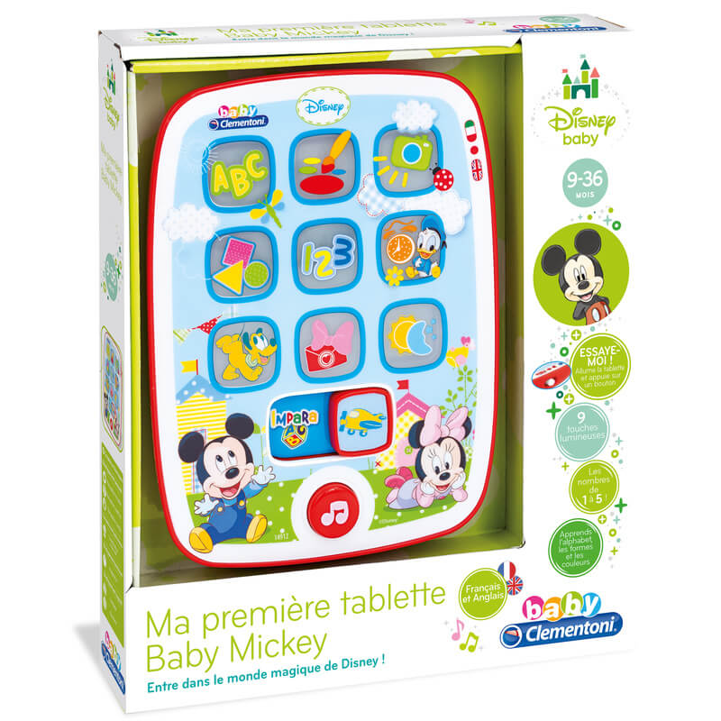 Tablette Baby Mickey - Disney