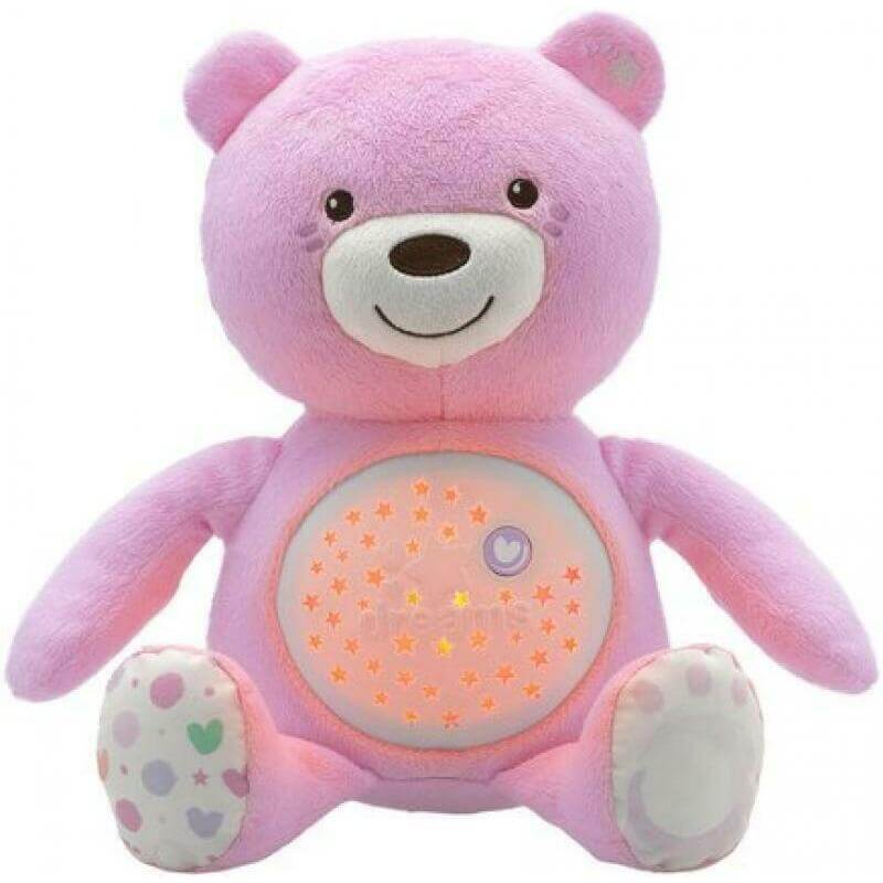 Ourson baby bear rose