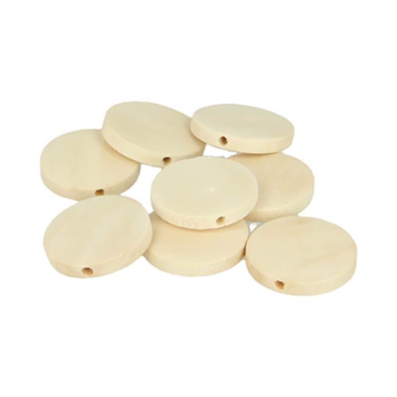 PERLES RONDES PLATES 25MM