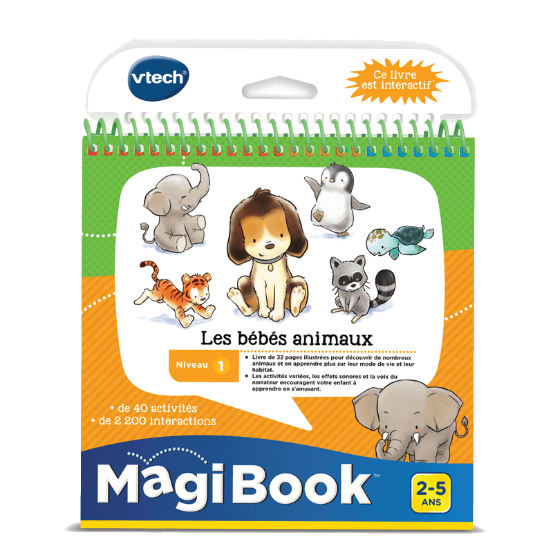 Magibook Les Bebes Animaux