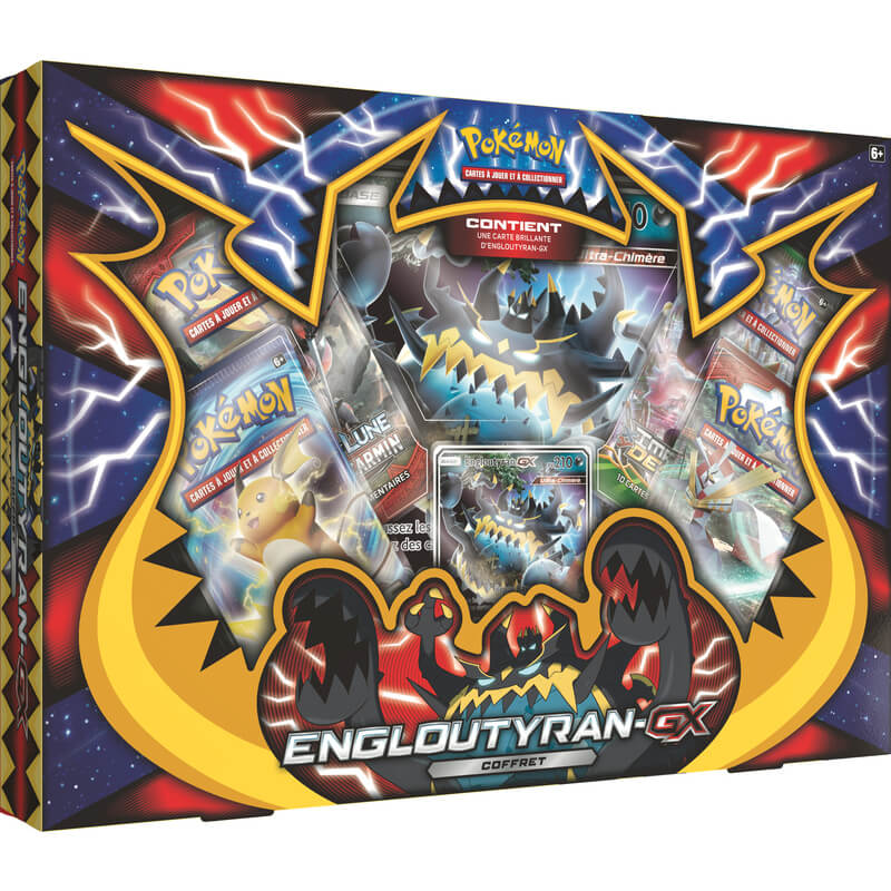 Coffret 4 Boosters Pokemon Asmodee Picwictoys