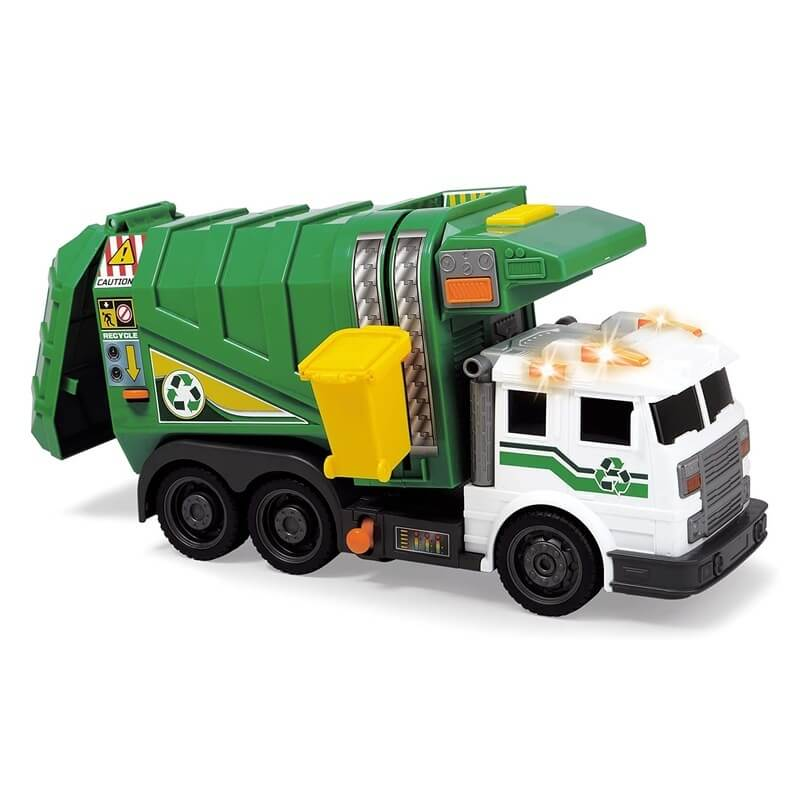 Camion Poubelle Lumineux&Sonore - City Cleaner