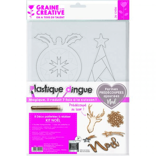 kit plastique dingue 8 decorations de no