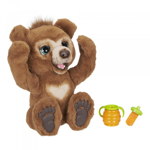 Peluche Interactive Furreal Cubby Lours Curieux