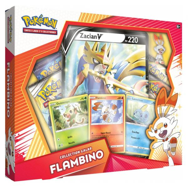 Coffret X4 Boosters Pokemon Collection Galar Pins Picwictoys