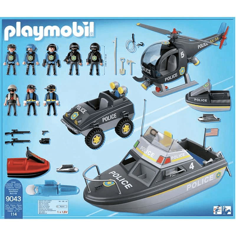 Playmobil Véhicules Forces Spéciales Police 90