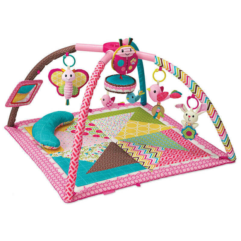 Gaga Deluxe Twist fold activity gym play ROSE