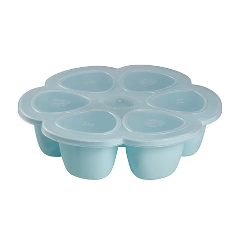 Beaba - Pots Multiportions Silicone 6 x 150 ml - B