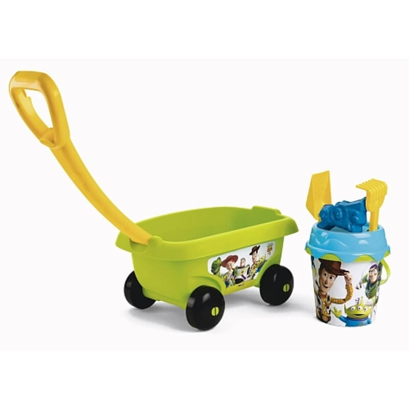 Smoby - Chariot de Plage Garni - Toy Story 4
