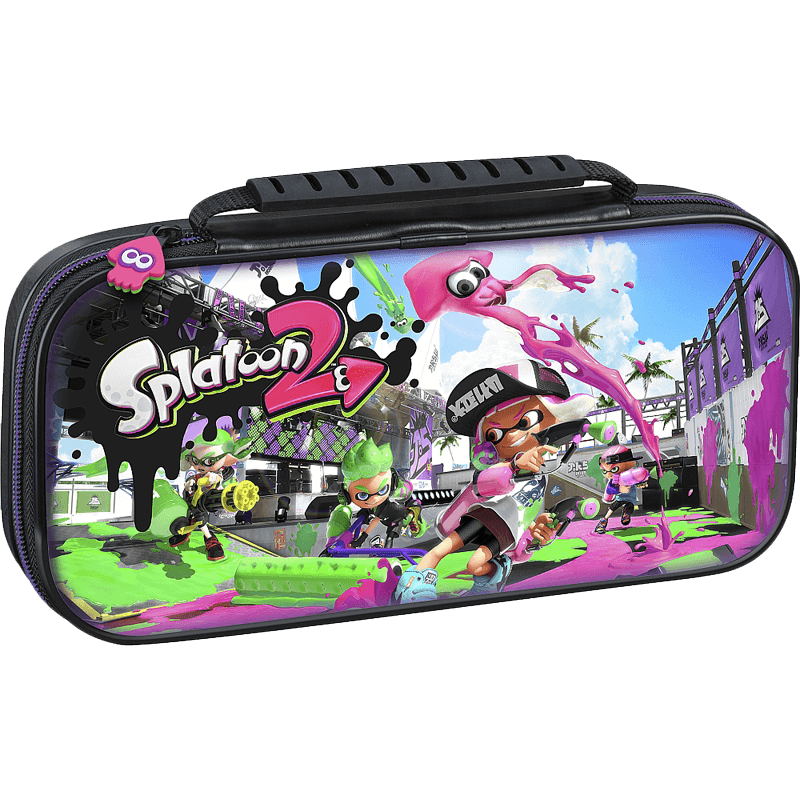 Console Nintendo Switch Pochette De Transport Deluxe Splatoon 2