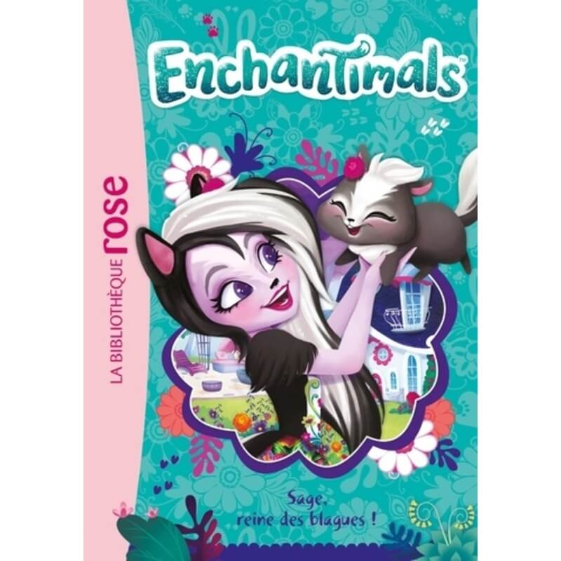 Enchantimals - Sage, reine des blagues ! T4