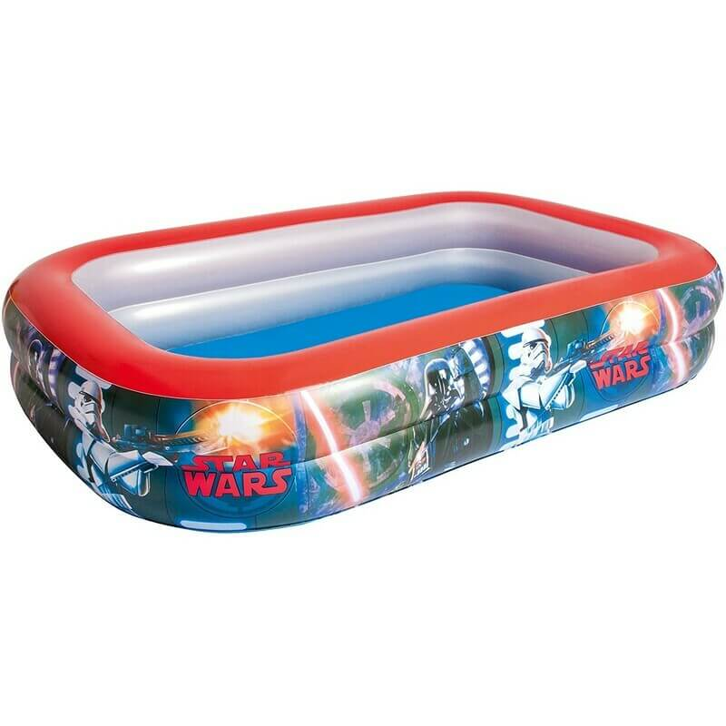 Piscine gonflable rectangulaire Star Wars