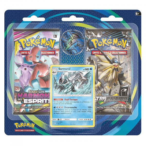 Pack X2 Boosters Pokemon Soleil Lune Picwictoys