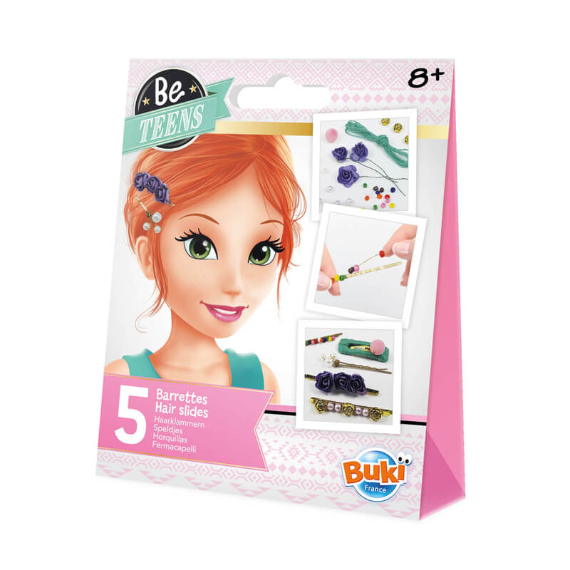 Barrettes cheveux - Be Teens
