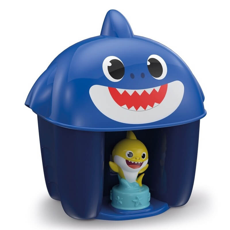 Baby Shark - Coffret personnages + 6 cubes Clemmy