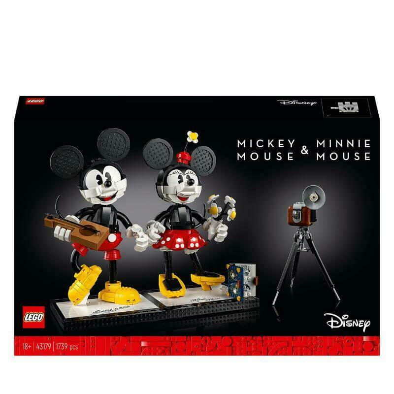 43179PERSONNAGES À CONSTRUIRE MICKEY MOUSE